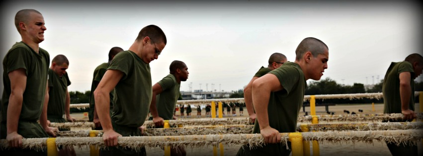 marine boot camp exercises